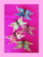Needlfelted Butterflies
