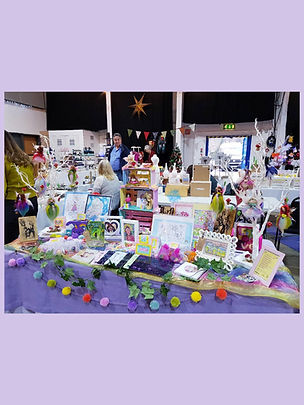 Forgetful Fairy Art Studio at Makers Market Cheese & Grain Frome
