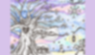 Winter Gnomes handdrawn custom illustration fairytale story
