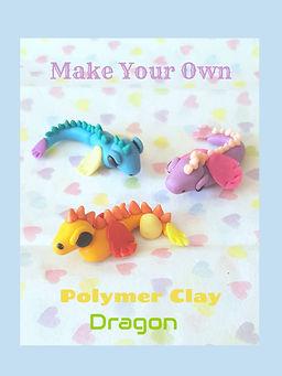 Polymer Clay Dragons Craft Tutorial