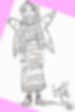 Hand-drawn Fairy Character Illustration