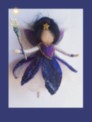 Witchy Magic Hanging Wool Fairy