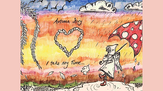 Autumn Story Handdrawn Illustration Fairytale
