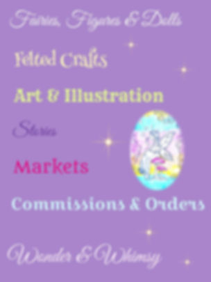 Fairies Crafts Art Illustration Wonder Whimsy