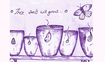 Hand-drawn Illustratin These Seeds Will Grow