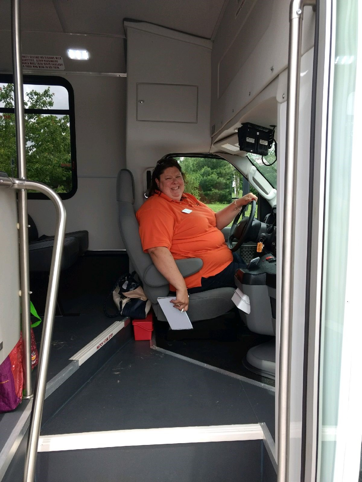 Stacy bus driver