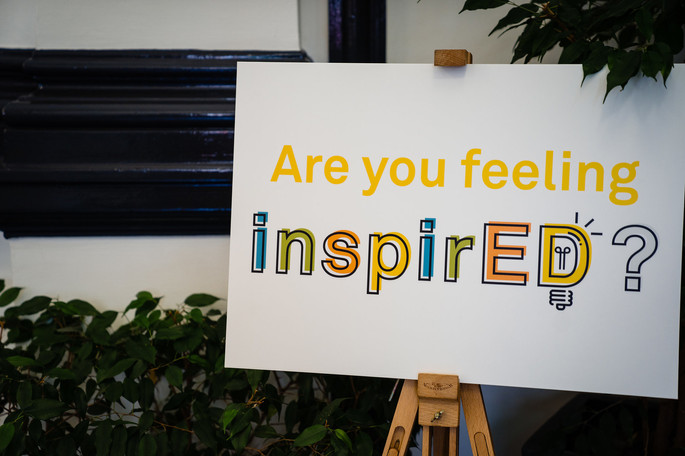 """Poster reading """"Are you feeling Inspired?"""""""