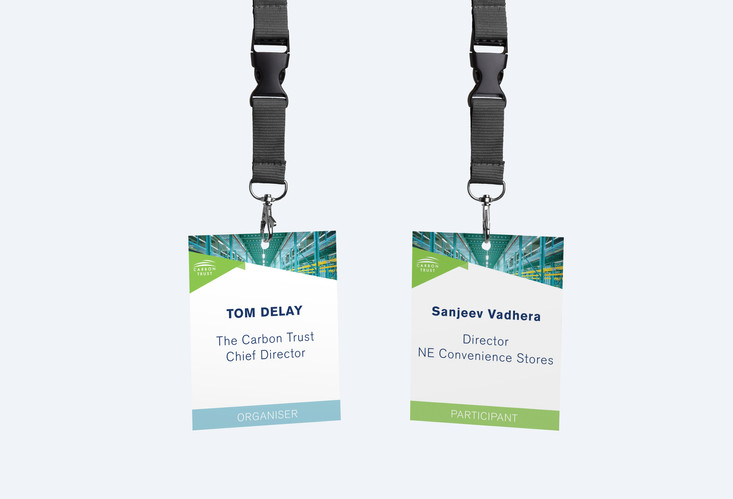 Green Business Fund name tags