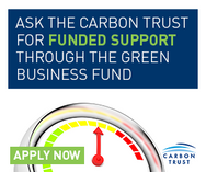 Facebook ad for the Green Business Fund