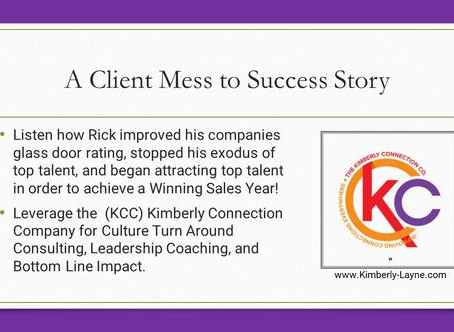 A Mess to Success Story For a Client with Poor Glass Door Ratings