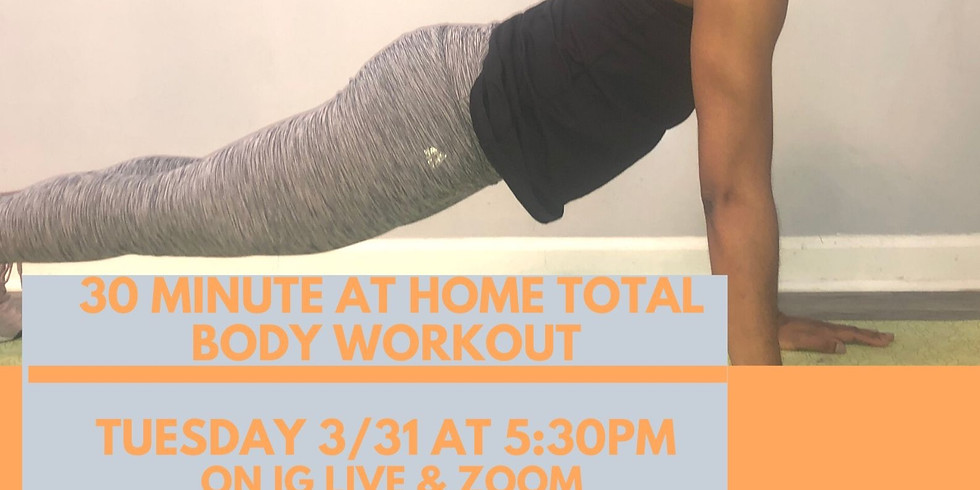 30 minute at home total body workout