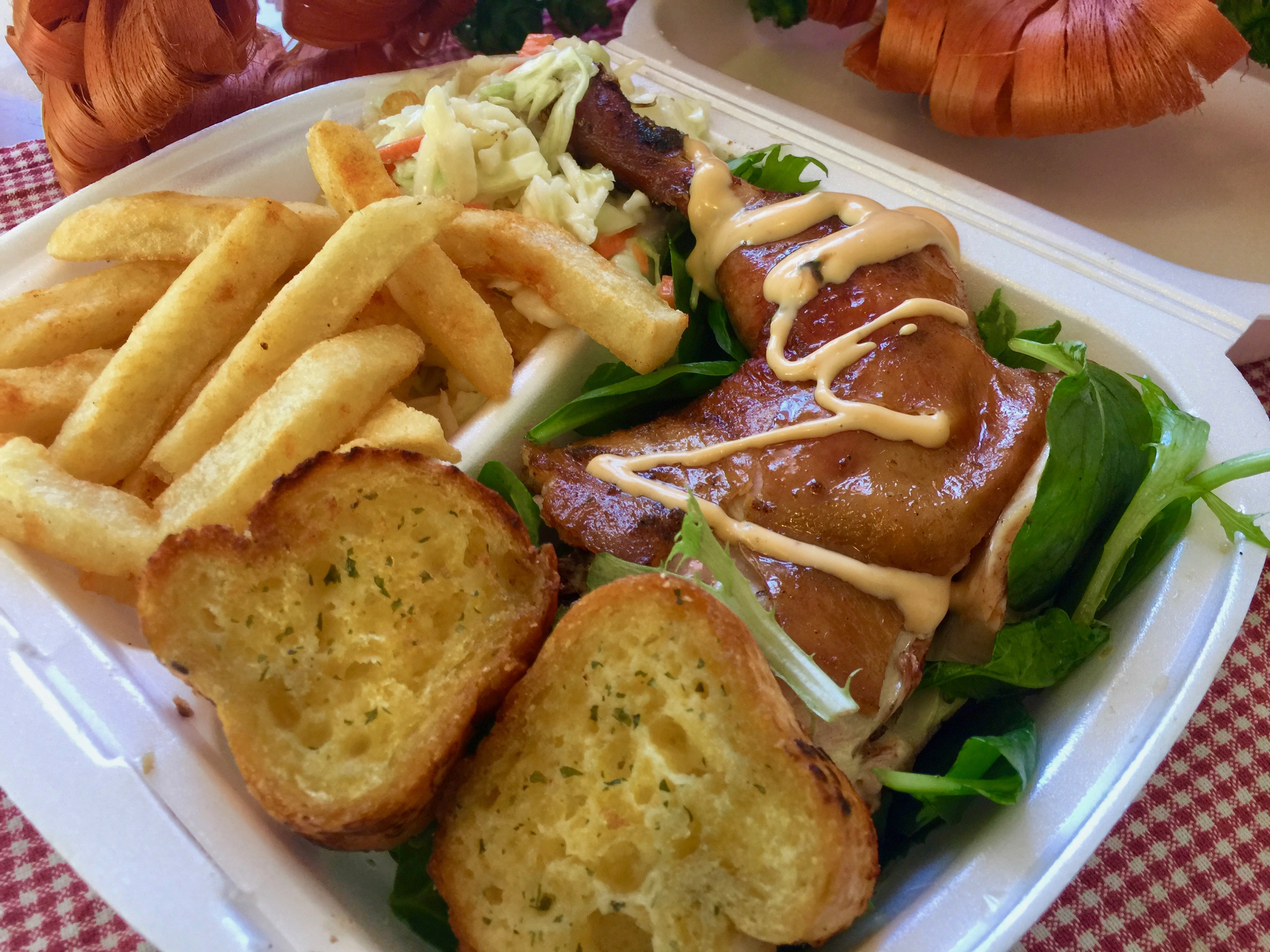 BBQ Chicken & Chips