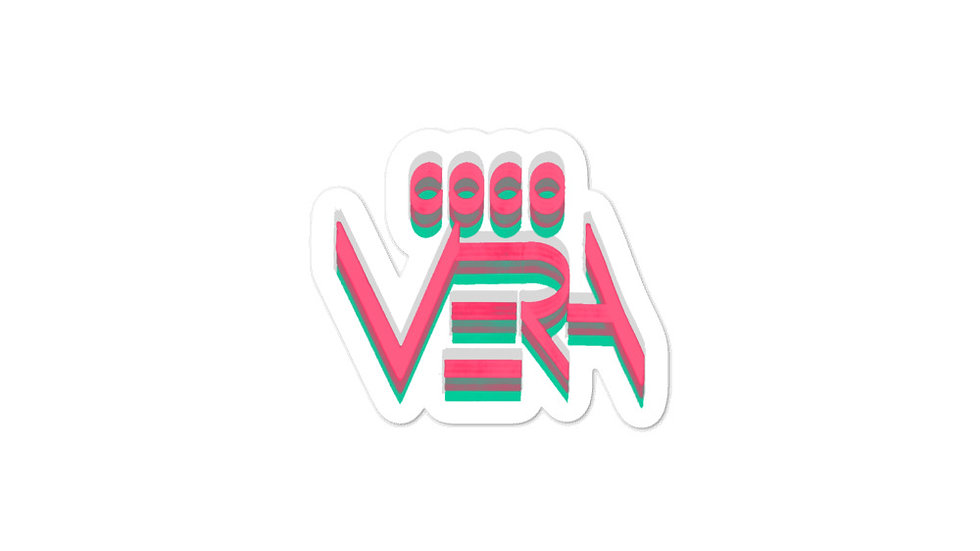 CV Logo (pink) Sticker