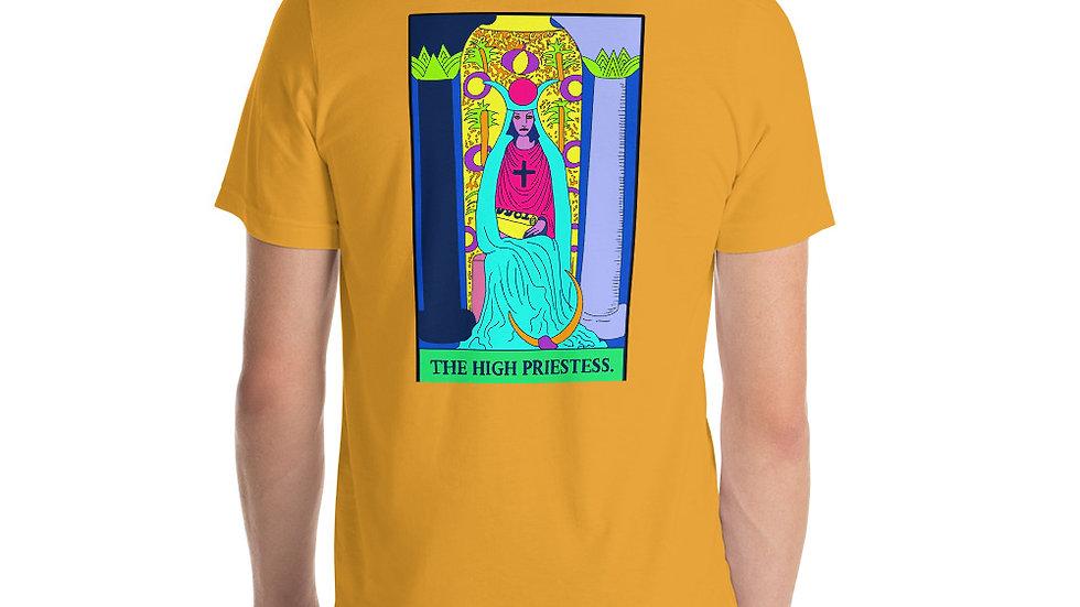 If you like stuff on the back of your Tee, Unisex Tee (High Priestess)