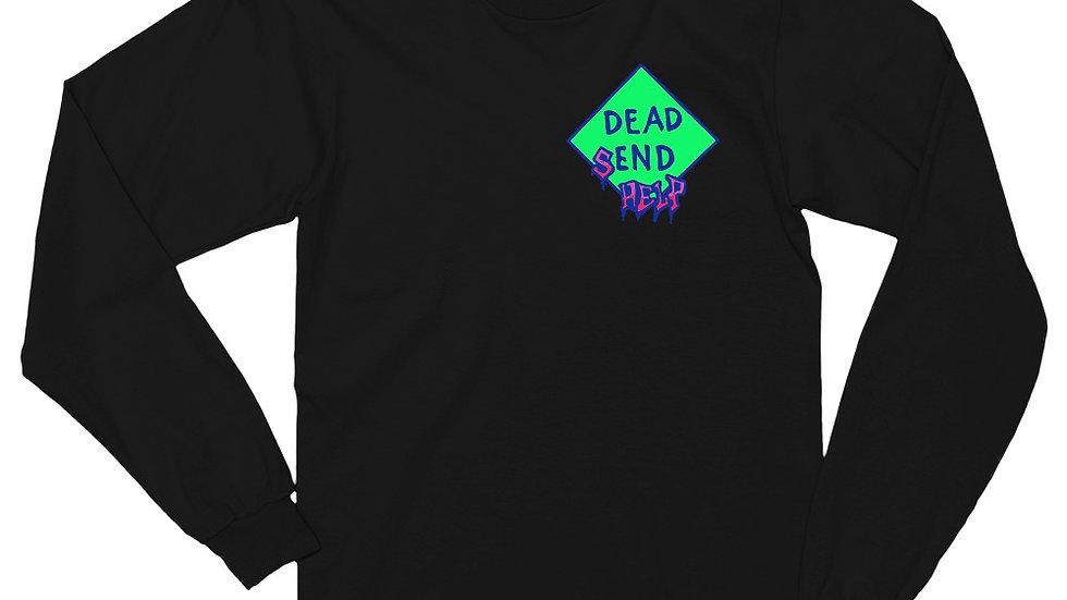 """""""Send Help"""" Long sleeve t-shirt"""