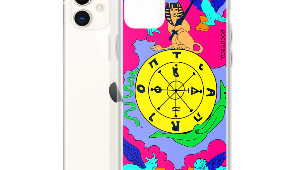 """Wheel of Fortune"" Tarot iPhone Case"