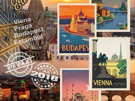 BTR JUNTOS - Europa del Este, Praga, Viena y Budapest 2018