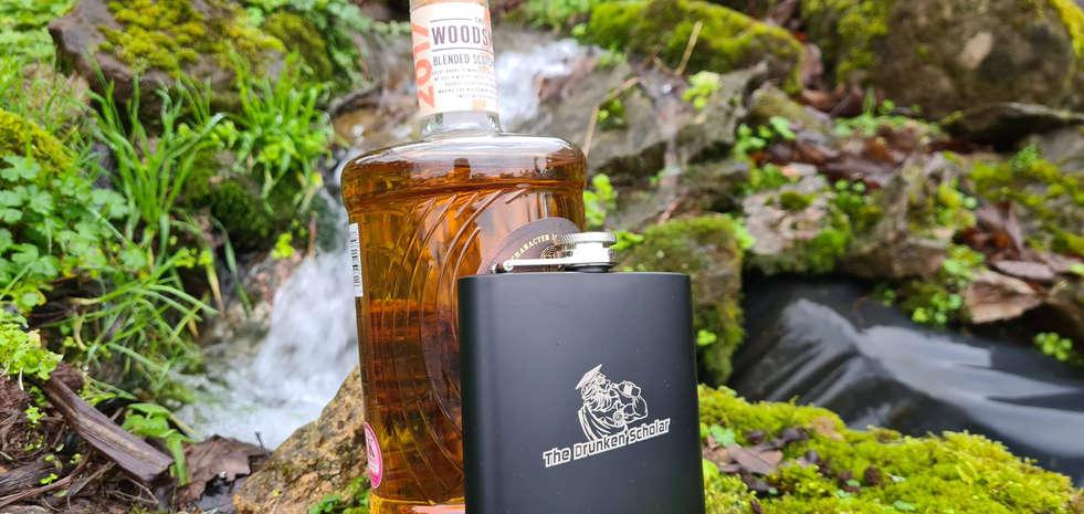 Matte Black Hip Flask with Bottle.jpg