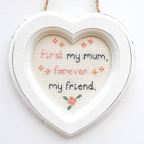 First My Mum Stitch