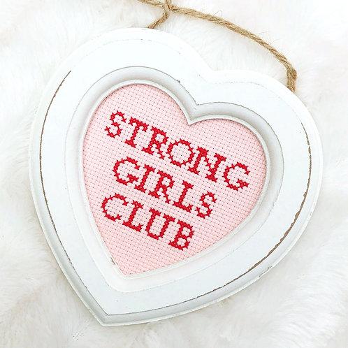 Strong Girls Club Stitch