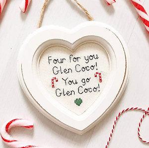 Mean Girls Inspired Glen Coco Stitch