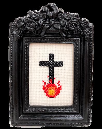 Burning Cross Stitch