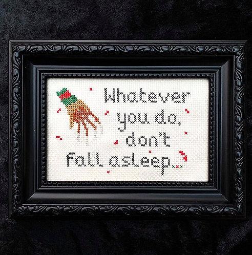 Don't Fall Asleep Stitch