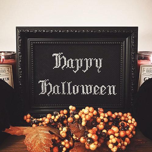Happy Halloween Stitch
