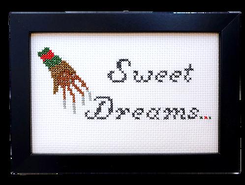 'Sweet Dreams' Freddy Krueger Inspired Stitch