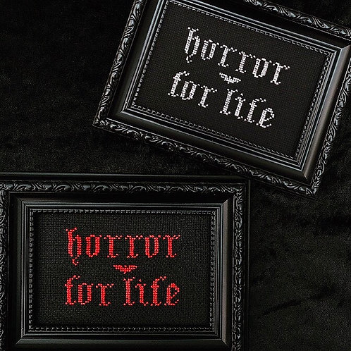 Horror For Life Stitch
