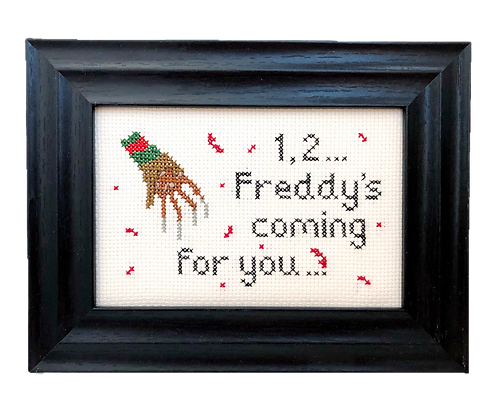 '1, 2' Freddy Krueger Stitch