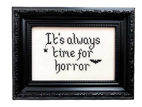It's Always Time For Horror Stitch