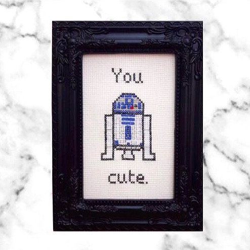 You 'R2' Cute Star Wars Inspired Stitch