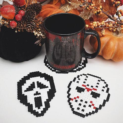 Horror Coasters x4
