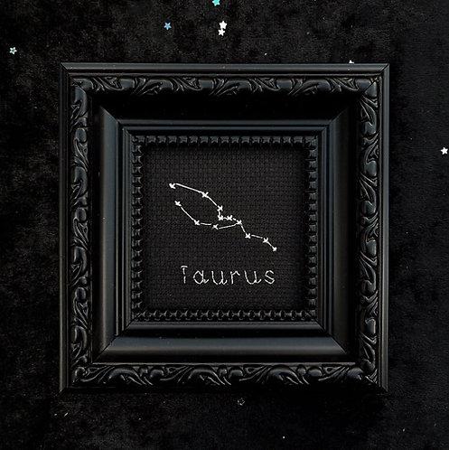 Taurus Zodiac Stitch