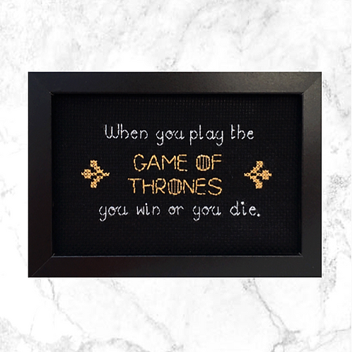 Game Of Thrones Inspired Stitch