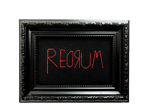'REDRUM' Stitch