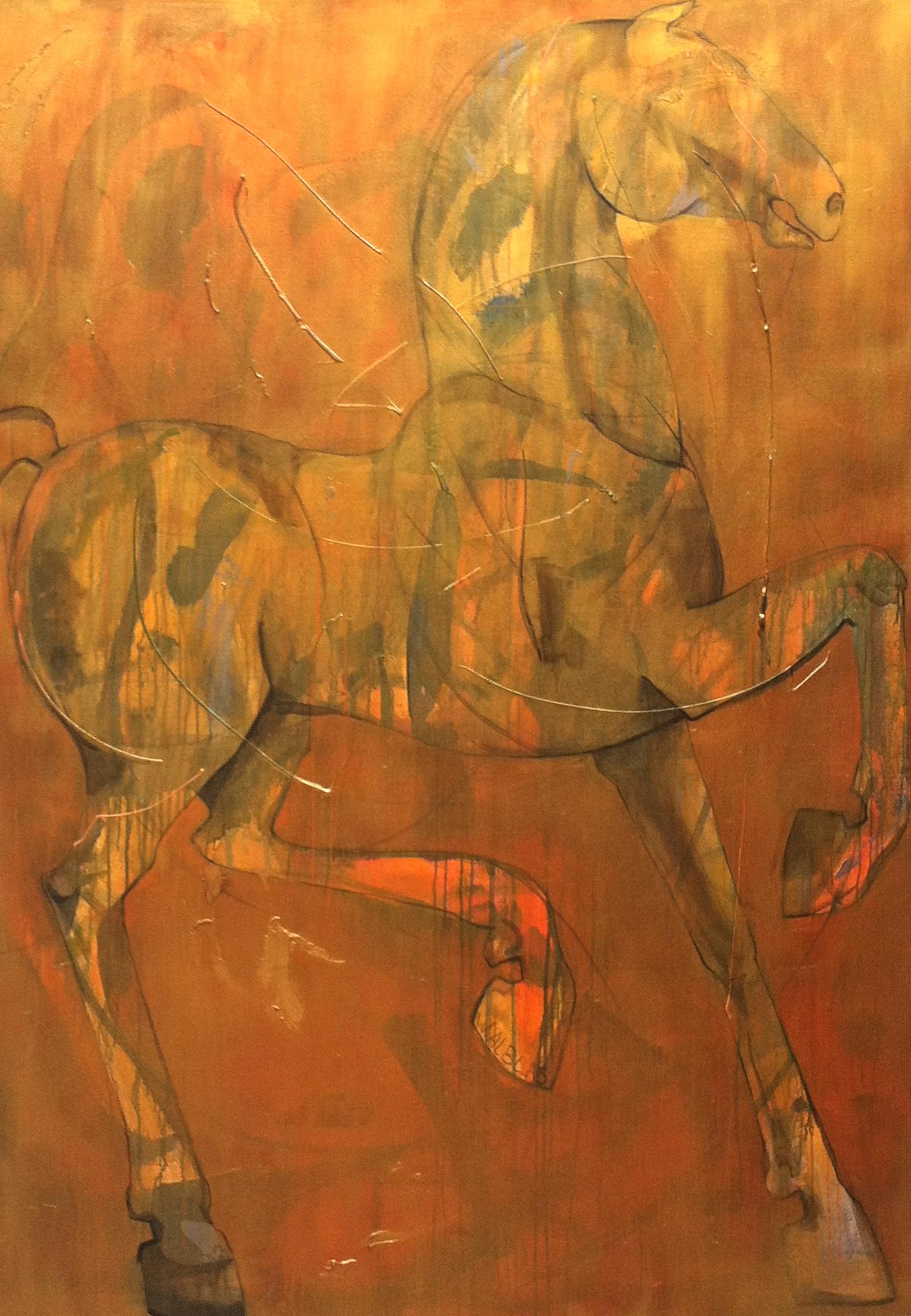Koningspaard 140 x 200