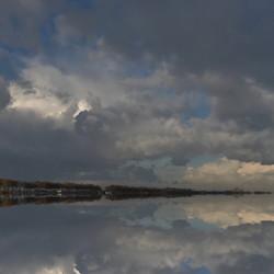 Sky rising water'