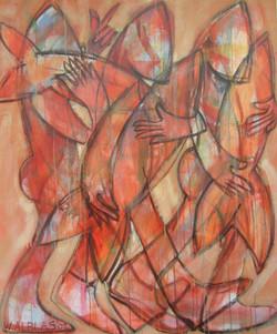 Vismarkt rood 100 x 120