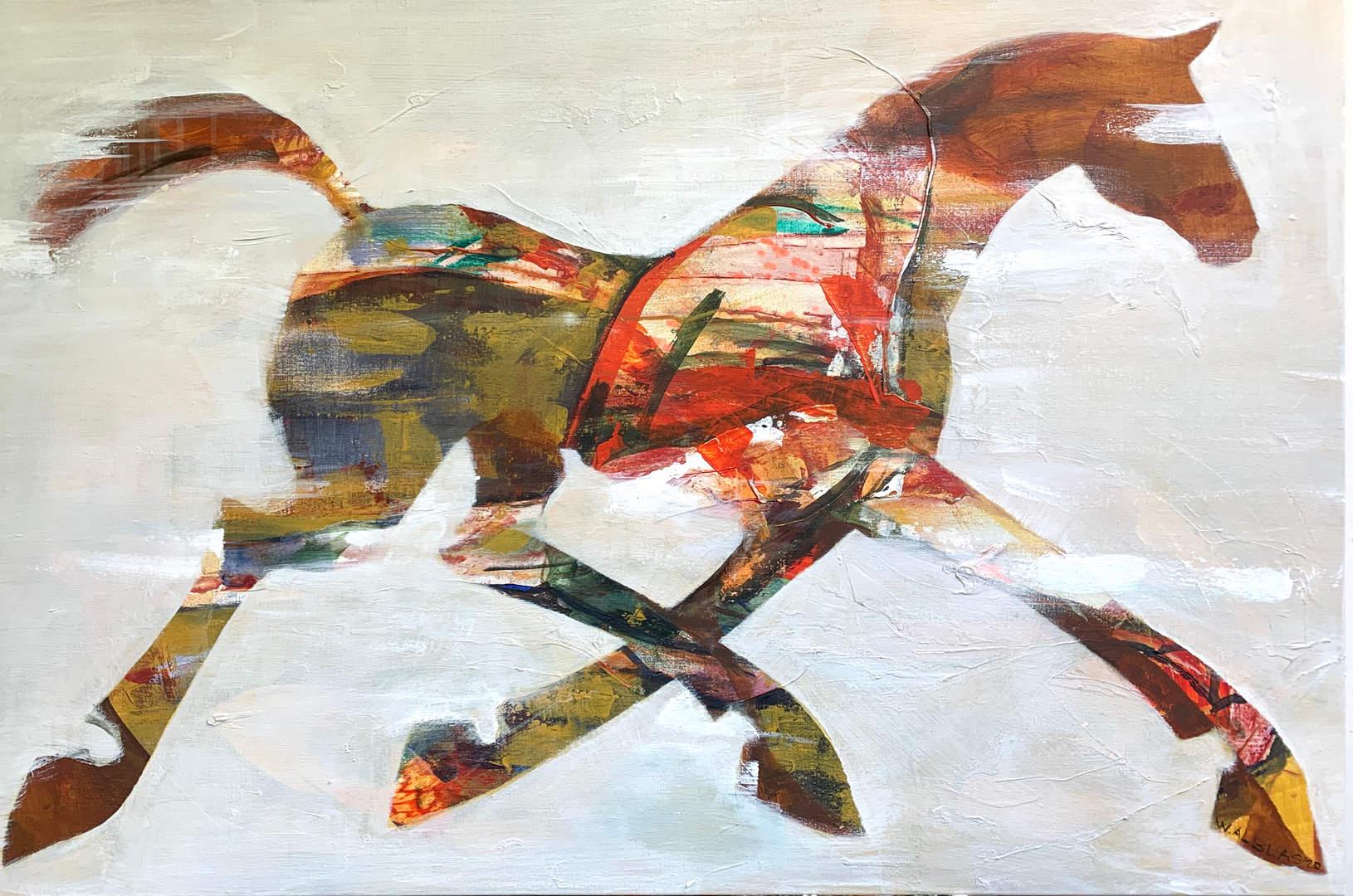 White Horse 120 x 80