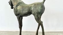 Nieuwe bronzen vers van de gieter