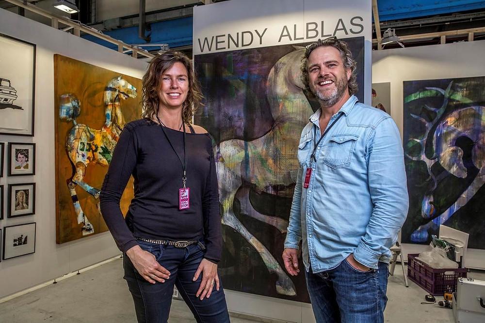 Stand ArtBox en Wendy Alblas