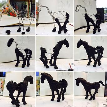 Eerste 3D werk
