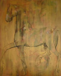 Golden Horse 160 x 200