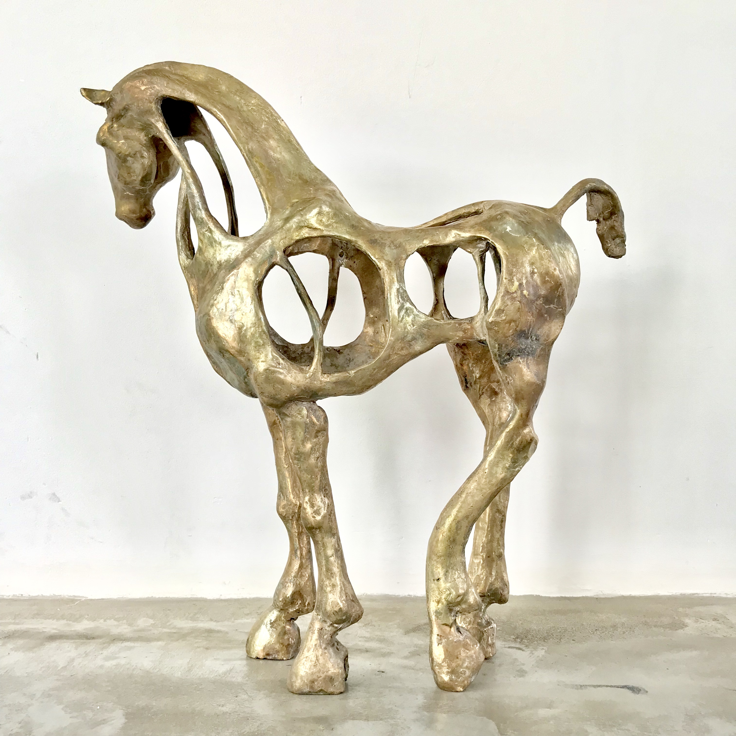 open paard