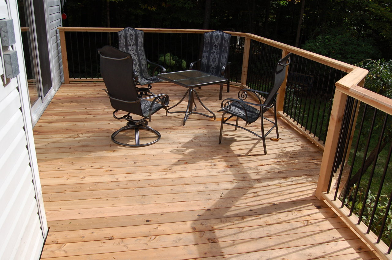 Side Deck & Rail