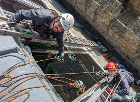 What can rope access be used for?