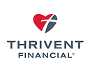 Red and grey Thrivent Financial logo