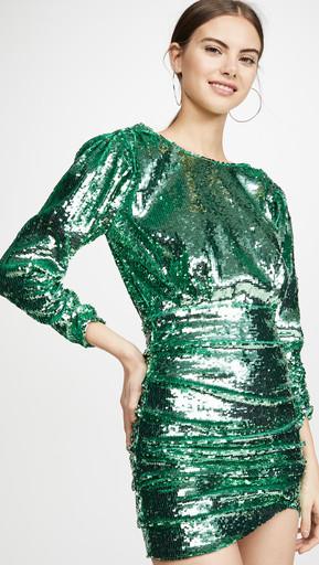 SHOPBOP GREEN DRESS